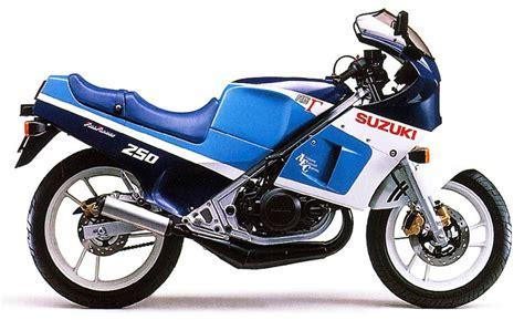 Suzuki Gamma by 1986 Suzuki Rg 250 Gamma Moto Zombdrive