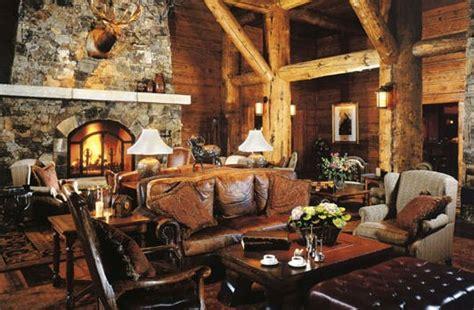 Rustic Interior Decor, Rustic Cabin Interior Design Rustic