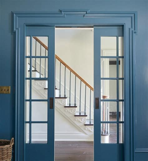 benjamin moore bella blue interiors  color