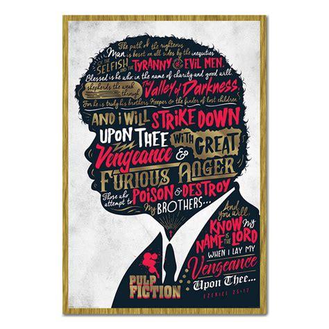 pulp fiction ezekiel  poster iposters