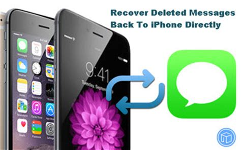 how to get back deleted messages on iphone is there a way to retrieve deleted text messages on iphone
