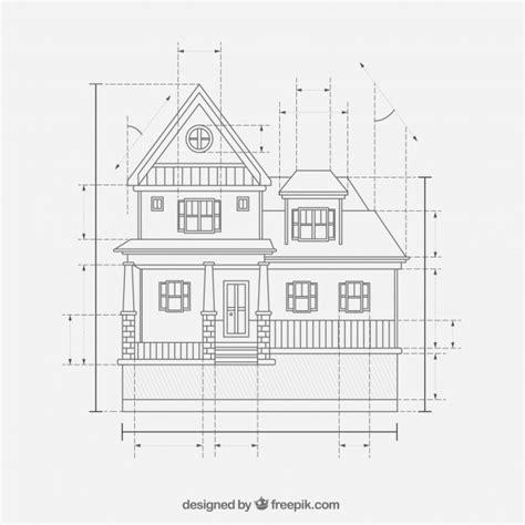 house design plans  vector