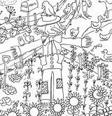 Farm Colouring Poster Posters Giant Notonthehighstreet Really sketch template