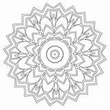 Coloring Mandala Babadoodle Pages Colouring sketch template
