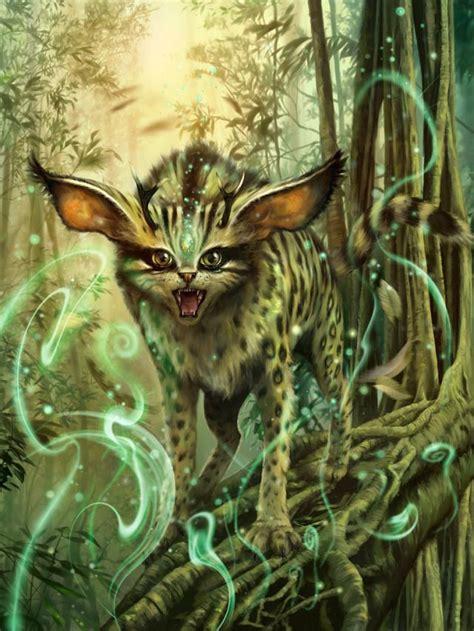 servalis dtam chur picture  fantasy creature cat