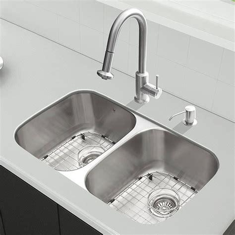 kitchen sink grates vigo industries vg15339 32 inch all in one undermount 2729
