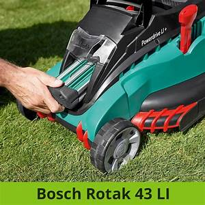 Bosch Rotak 40 Test : bosch diy akku rasenm her rotak 370 li 2 akku ladeger t 40 l grasfangkorb karton 36 v 2 0 ~ Watch28wear.com Haus und Dekorationen