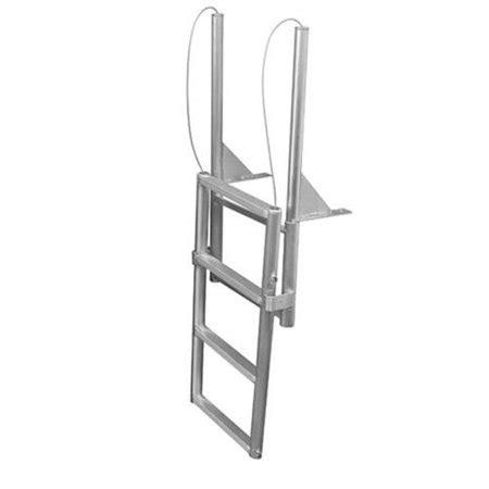 Folding Boat Lift by Jif Marine Efl4 4 Step Folding Dock Lift Ladder Walmart