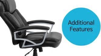 Husky Office® Heavy Duty 500 Lb. Capacity Big & Tall Black