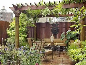 Amazing Eastern-Style Rooftop Terrace Garden Of A New York