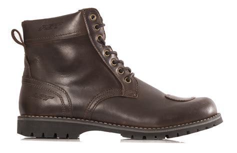 Motorcycle Boots : Rst Roadster Brown Motorcycle Boot