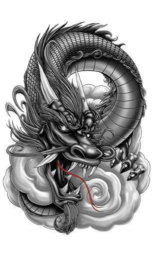 dragon tattoos ideas  pinterest dragon tattoo piercing dragon tattoo ink