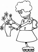Science Coloring Pages Sheets Scientist Sheet Colouring Physical Clipart Fiction Clip Library Cartoon Robot 321coloringpages Maiden Watching Flowers Fair Fun sketch template