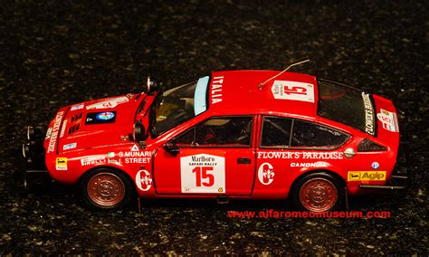 alfetta gtv safari rally   canonica