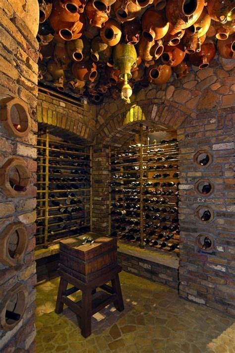 stone wine cellar   ceiling wine home wine