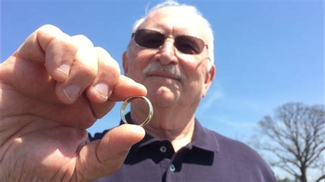 husband reunited with lost wedding band just in time for