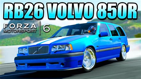 Forza 6 Custom Cars Rb26 Volvo 850 R  Swedish Swagon