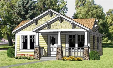 Small Craftsman Bungalow House Plans California Craftsman