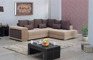 Two tone fabric modern convertible sectional sofa w storage for Sectional sofa that converts to bed