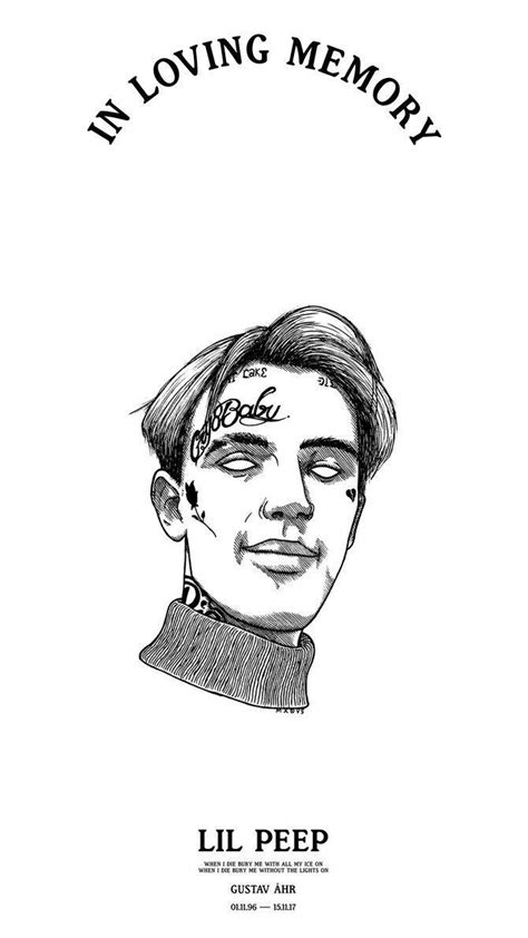in Loving memory Lil Peep Wallpaper for Phone and HD