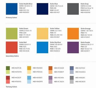 Duke Colors Health Purple Medicine Gray Medschool