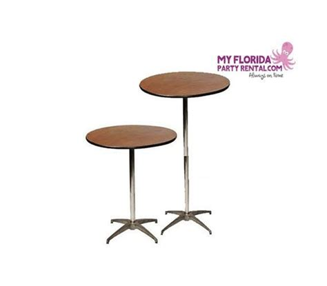 cocktail tables for rent cocktail tables my florida party rental
