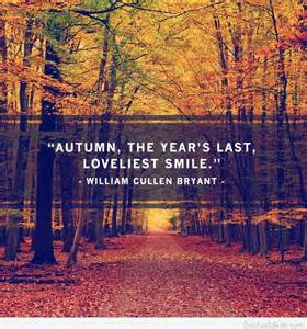 Fall Autumn Wallpaper with Quote