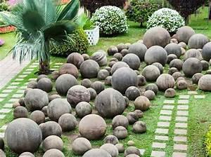 Cailloux Pour Jardin : decoration jardin avec cailloux digpres ~ Melissatoandfro.com Idées de Décoration