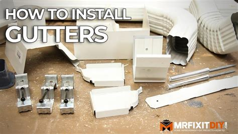 install gutters  diy guide youtube