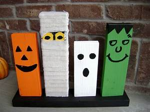 Image Gallery halloween wood crafts