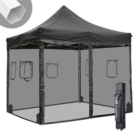 ft pop  canopy tent  mesh sidewalls instant