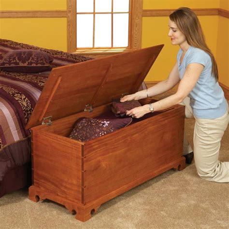 blanket chest woodworking plan  wood magazine