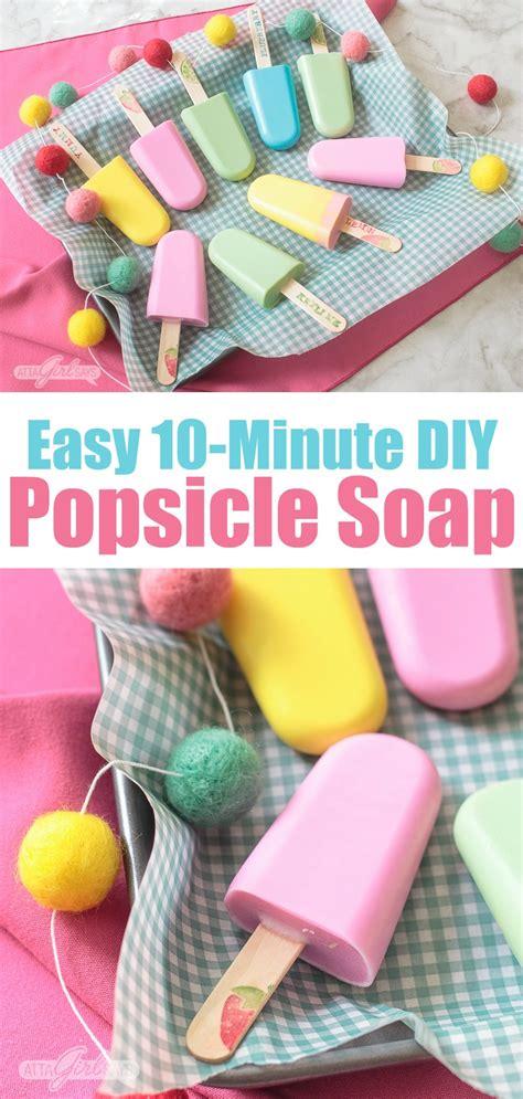 easy homemade soap recipe fruity popsicles   bathtub