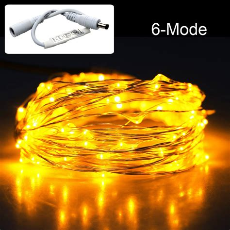 33ft 10m 100 led christmas string light l dimming