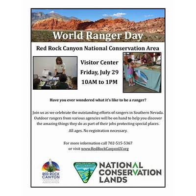World Ranger Day – Red Rock Canyon Las Vegas