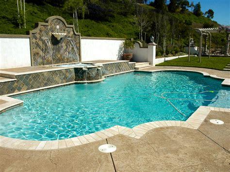 swimming pool styles photo page hgtv