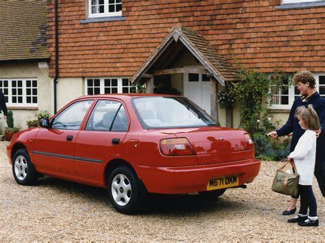 Daihatsu Charade Sedan Uk-spec (g203) '1996–2000