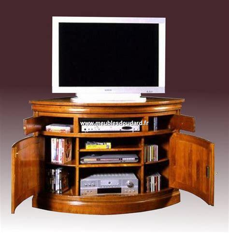 meuble d angle pour tele meuble d angle tv merisier louis philippe 2 portes 1 niche go1070