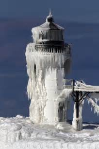 St. Joseph Pier Lighthouse Michigan