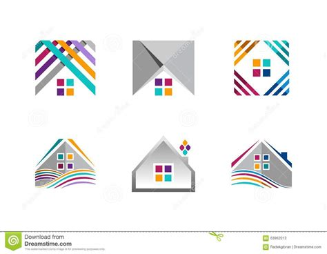 Real Estate, House Logo, Building Apartment Icons ...