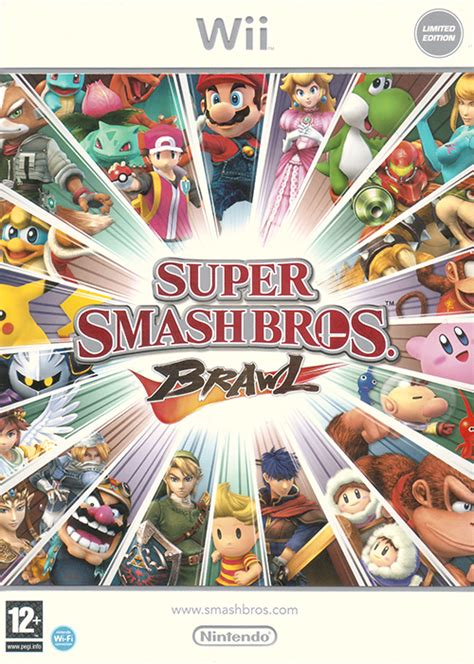 Official Art Super Smash Bros Brawl Last Minute Continue