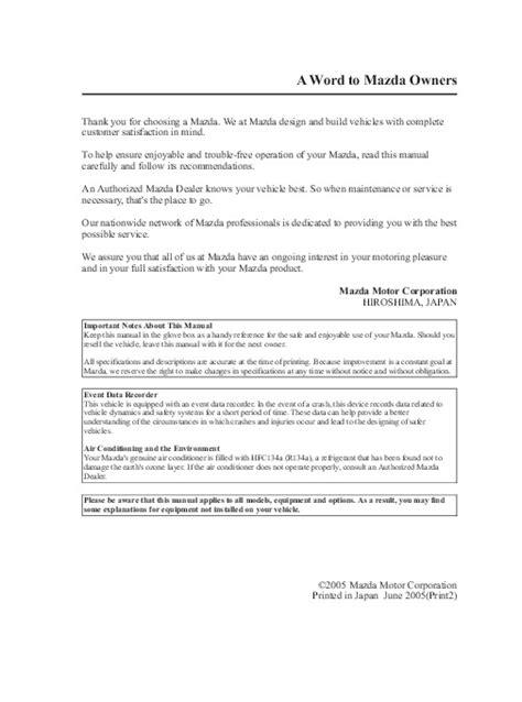 online car repair manuals free 2006 mazda mx 5 instrument cluster 2006 mazda mx 5 miata owners manual