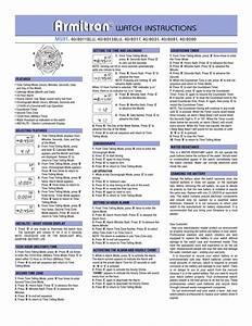 Armitrongentsdigital2 Pdf  Armitron  Tron