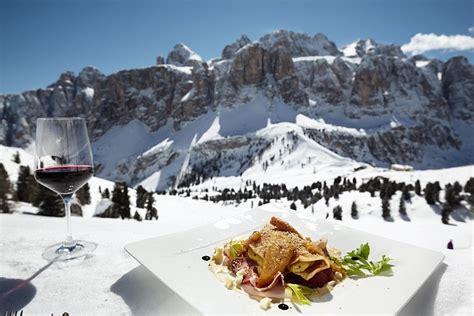 ski cuisine ski holidays in alta badia