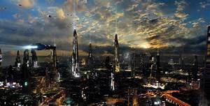 Futuristic City 4 by rich35211.deviantart.com - Desktop ...
