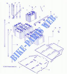 Battery R14rc08gc  Gj  Fj  49rgrbattery13ev  For Polaris