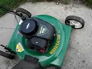 2007 Weed Eater Lawnmower Repaired