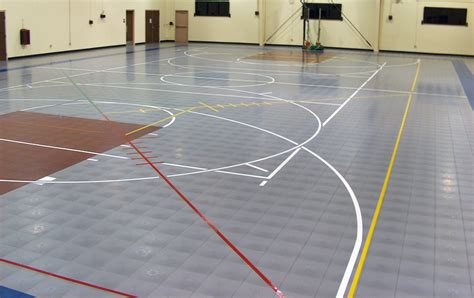 modular floor modular gymnasium flooring for athletic courts field areas by tempotile