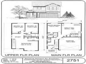 small two story cabin plans small two story house plans simple two story house plans