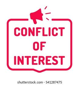 conflict  interest icon images stock  vectors